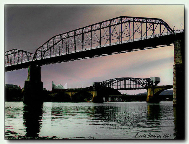"photo ""Bridges Over the Tennessee"" tags: misc.,"
