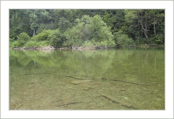 "photo ""Green Lake"" tags: landscape, summer, water"