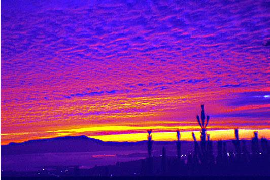 """фото """"After sunset"""" метки: пейзаж, путешествия, Северная Америка, закат"""