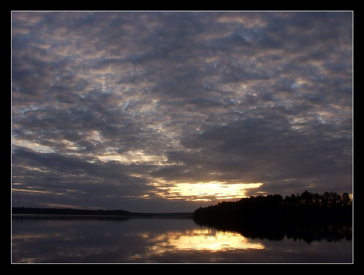 """фото """"Озеро, Закат 2"""" метки: пейзаж, закат"""