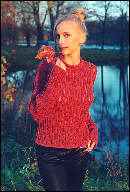 """фото """"осень"""" метки: портрет, пейзаж, женщина, осень"""