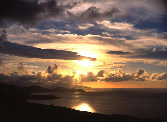 "photo ""Sunset at Azores"" tags: travel, Europe"