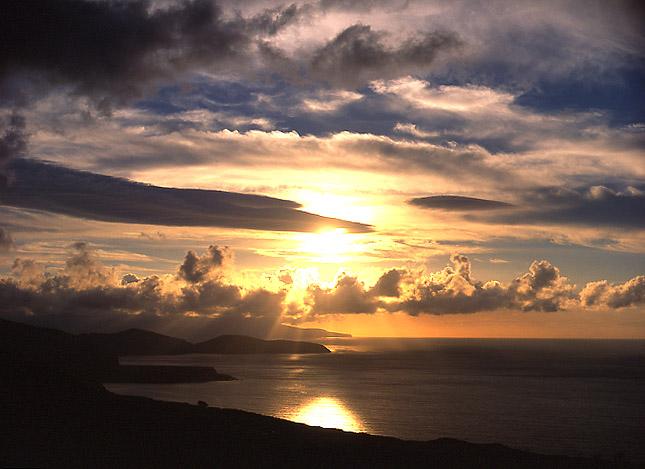 """фото """"Sunset at Azores"""" метки: путешествия, Европа"""