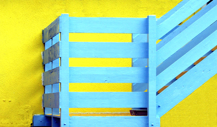 "photo ""Yellow and Blue."" tags: still life, misc.,"