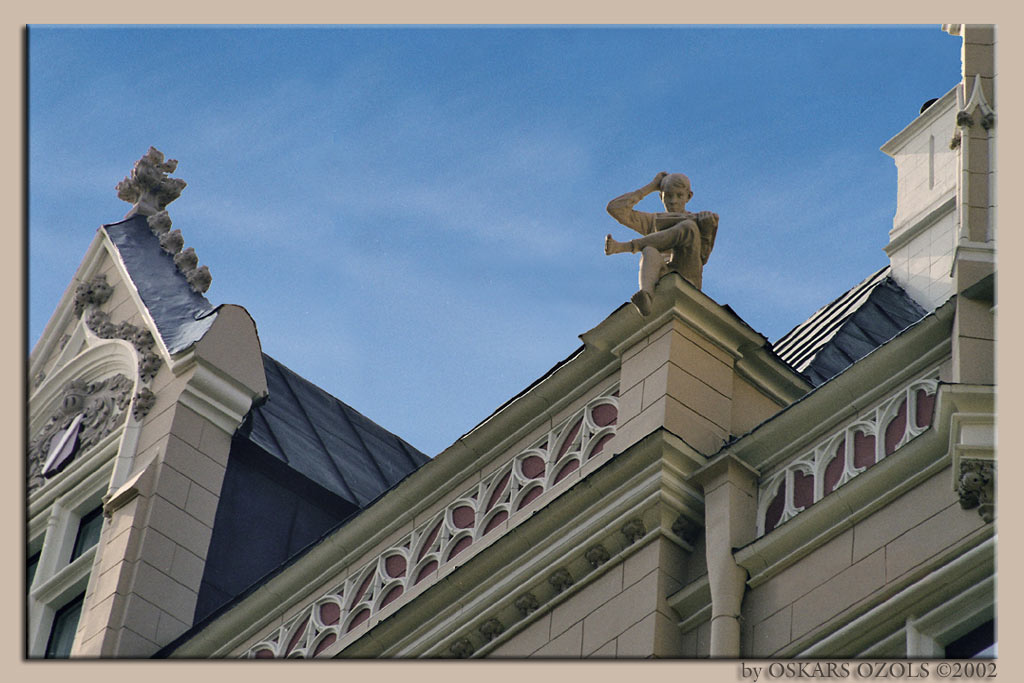 "photo ""wise man says..."" tags: architecture, misc., landscape,"