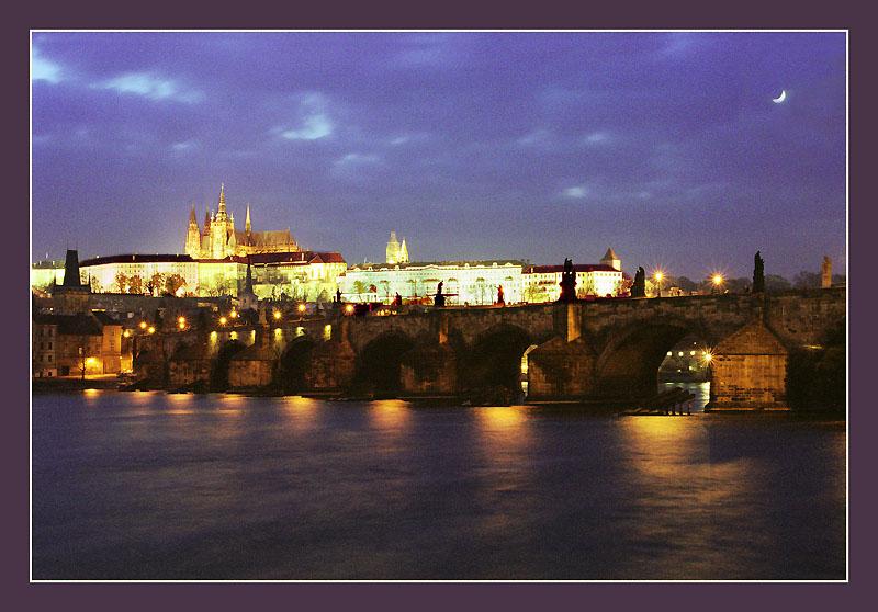 "фото ""Prague at night"" метки: архитектура, пейзаж,"