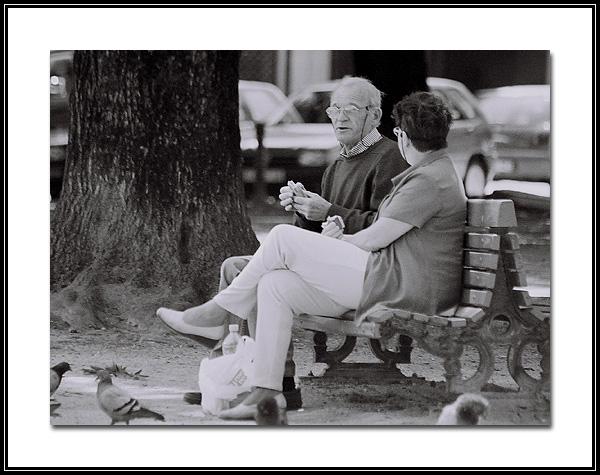 "фото ""In the Park, waiting the Sun."" метки: пейзаж, весна"