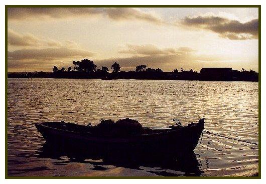 """фото """"Pensamentos a Deriva"""" метки: пейзаж, вода, закат"""