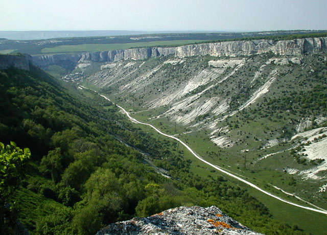 "photo ""Crimea`s canyon"" tags: landscape, travel, Europe, mountains"