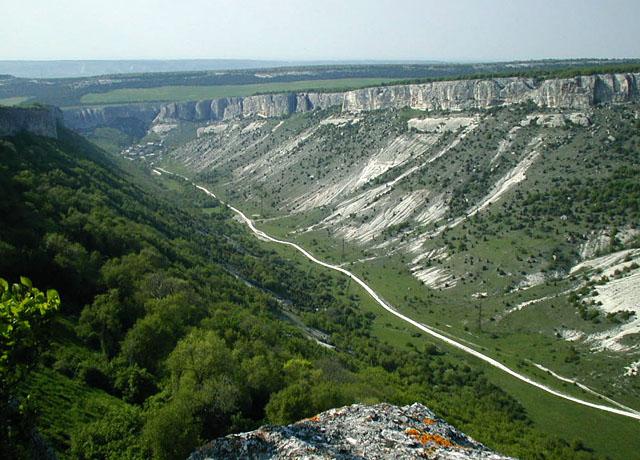 "фото ""Каньон Крыма"" метки: пейзаж, путешествия, Европа, горы"