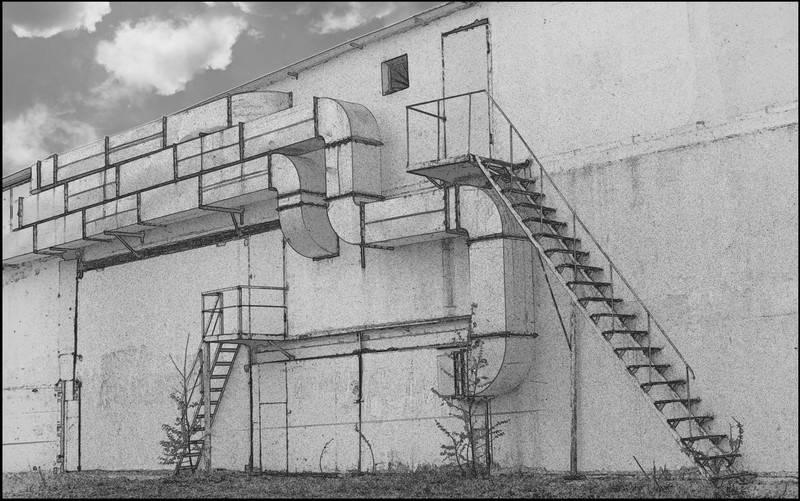 "фото ""Выхода нет"" метки: архитектура, пейзаж,"