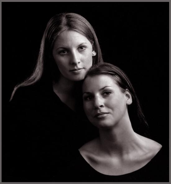 "фото ""Sisters no1"" метки: портрет, женщина"
