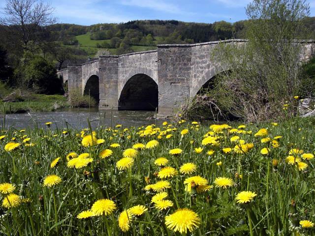 "фото ""Старый мост."" метки: фотомонтаж, пейзаж, весна"