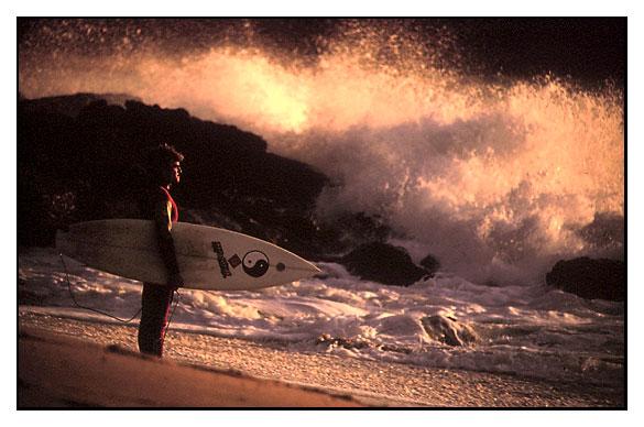 """photo """"Surf # 14"""" tags: landscape, portrait, man, water"""
