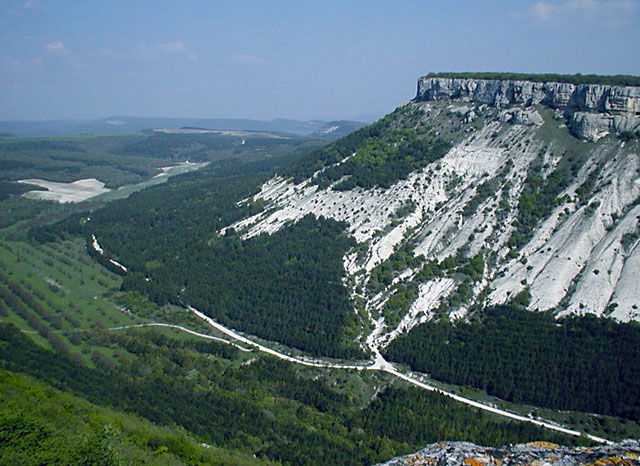 "фото ""Каньон крыма 2"" метки: пейзаж, путешествия, Европа, горы"