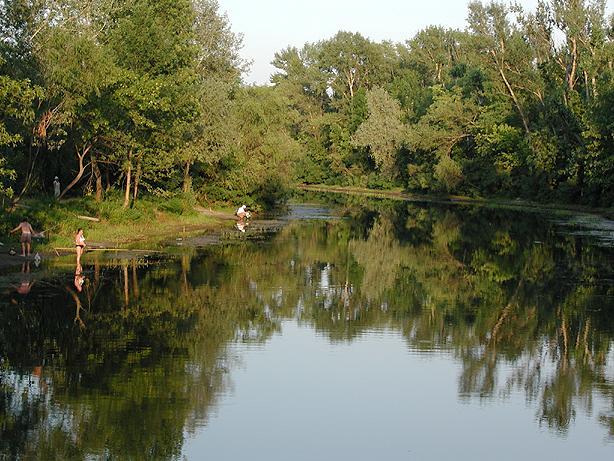 "фото ""Летний вечер"" метки: пейзаж, вода, лето"