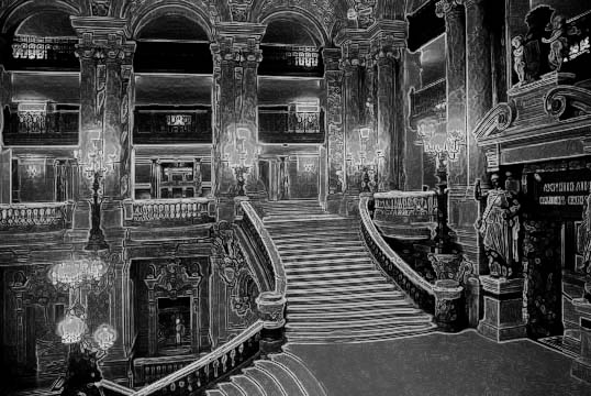 "фото ""Paris Opera House Interior"" метки: архитектура, фотомонтаж, пейзаж,"