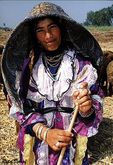 "photo ""The Shepherdess"" tags: travel, portrait, Africa, woman"