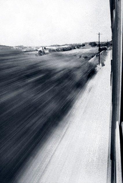 """фото """"Speeding away from you"""" метки: абстракция,"""