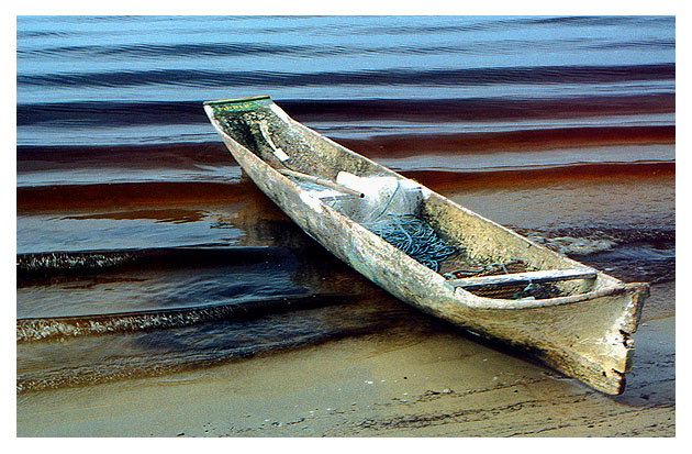 "photo ""Caicara`s Canoe"" tags: nature, travel, South America"