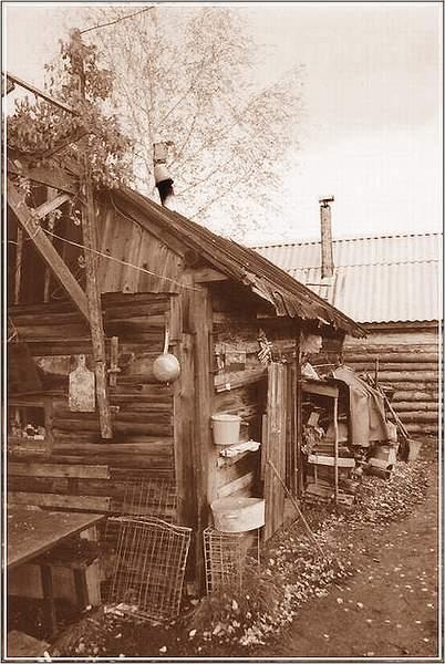 """фото """"Деревенская банька"""" метки: разное, архитектура, пейзаж,"""