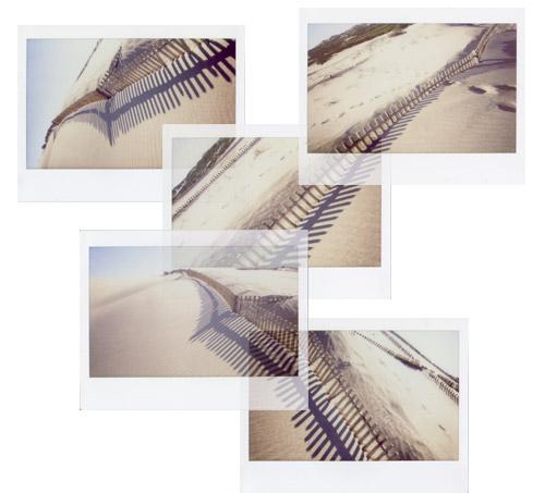 """photo """"Instant Fences"""" tags: landscape, montage,"""