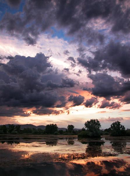 "фото ""Sky Power"" метки: пейзаж, закат, облака"