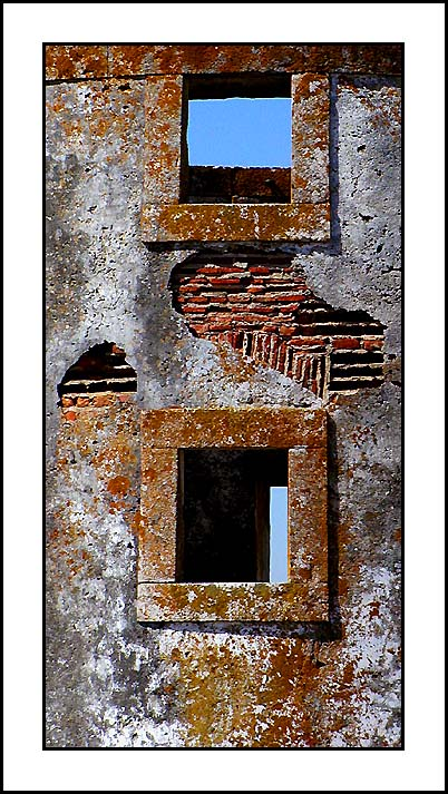 "photo ""Stone Windows"" tags: architecture, landscape,"