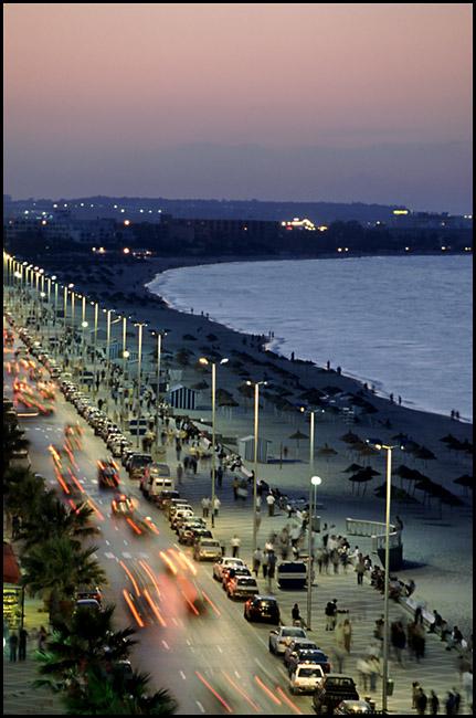 """фото """"Тунис: вечер в Сусе"""" метки: архитектура, путешествия, пейзаж, Африка"""