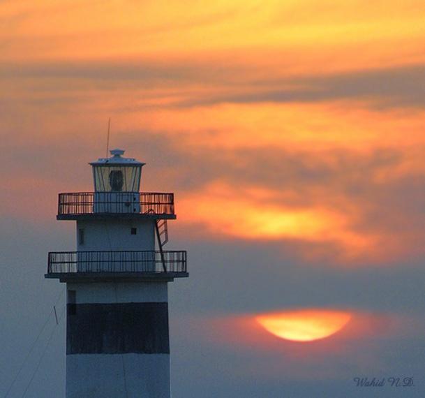"""фото """"At Sunset"""" метки: пейзаж, закат"""