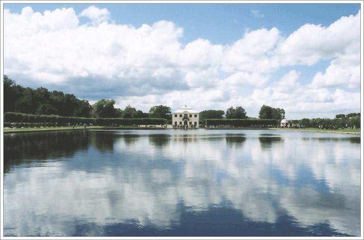 "фото ""Petergoff"" метки: пейзаж, вода, облака"