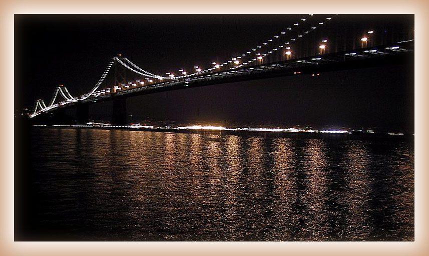"фото ""Мост над заливом"" метки: пейзаж, путешествия, Северная Америка, вода"