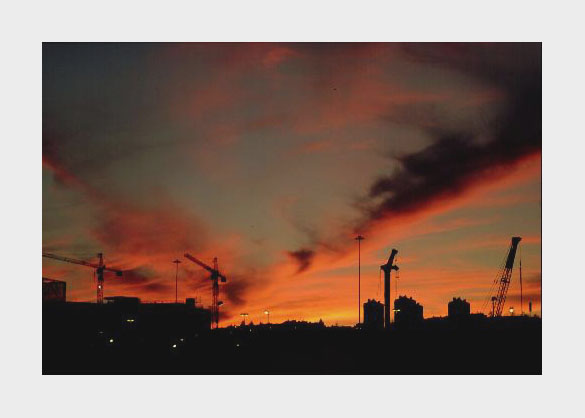 "фото ""Under construction"" метки: пейзаж, архитектура, закат"