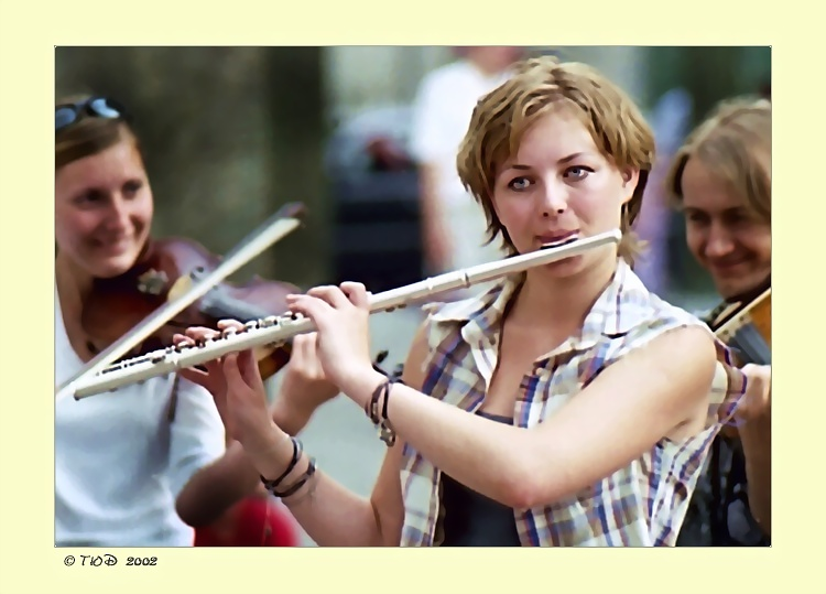 "фото ""Флейтистка"" метки: портрет, жанр, женщина"