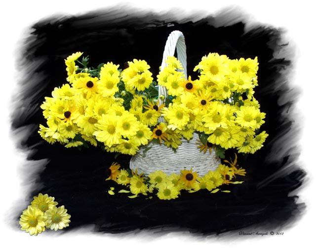 """фото """"Yellow Flowers"""" метки: натюрморт,"""