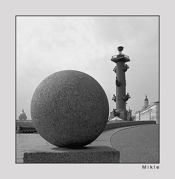 "фото """"Этюд с шаром"" (с)"" метки: архитектура, путешествия, пейзаж, Европа"