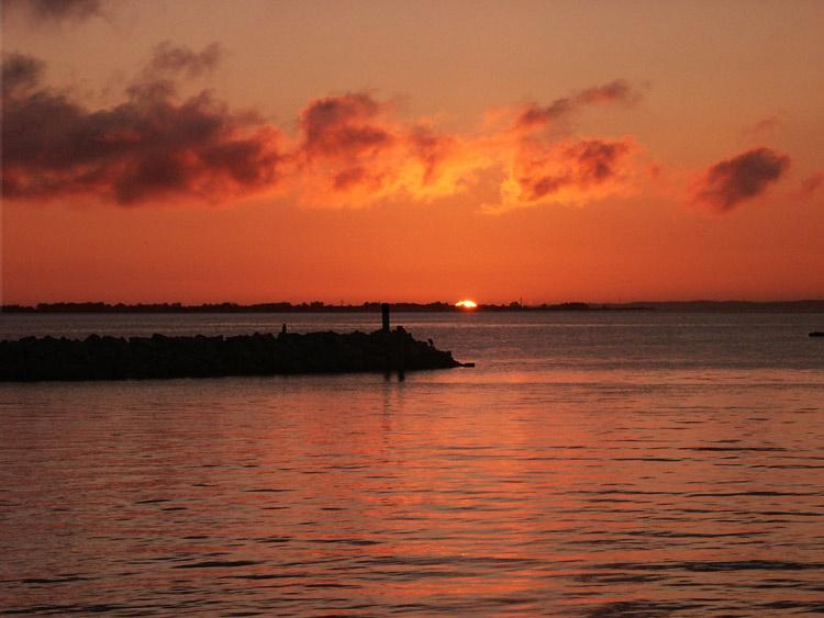 "photo ""Sunrice..."" tags: landscape, summer, sunset"