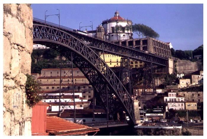 "фото ""Bridge (Porto, Portugal)"" метки: архитектура, пейзаж,"