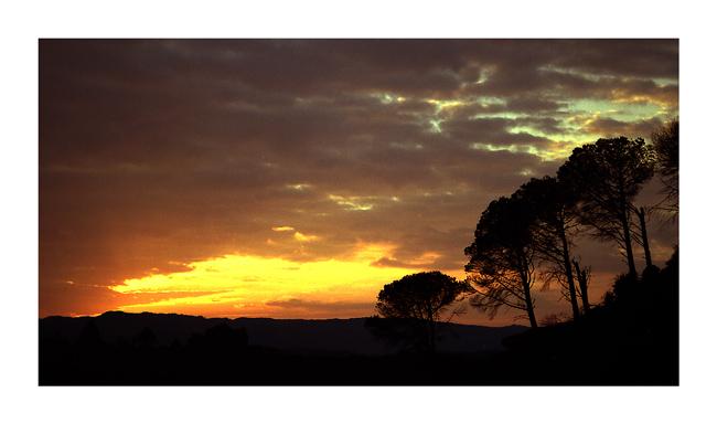 "фото """"Sra do Minho"""" метки: пейзаж, закат"