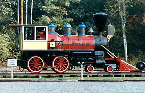 """фото """"The Old train of NH"""" метки: разное, путешествия, Северная Америка"""