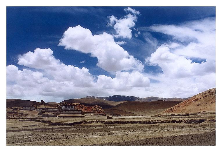 """фото """"Под небом голубым #7"""" метки: пейзаж, горы, облака"""