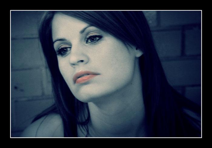 "фото ""In Blue"" метки: портрет, женщина"