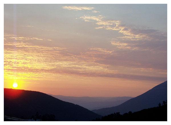"""фото """"Sunset in mountain #2"""" метки: пейзаж, горы, закат"""