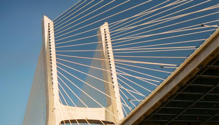 "фото ""Ponte Vasco da Gama - Lisboa/Portugal"" метки: архитектура, пейзаж,"