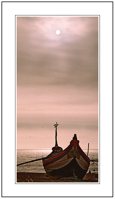 "фото ""Here comes the Sun to see the Boat."" метки: пейзаж, закат"