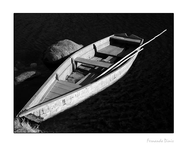"""фото """"The boat - IR"""" метки: пейзаж, вода"""