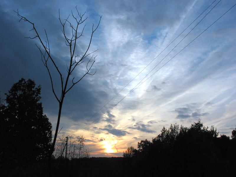 "фото ""Солнце мое, прощай ..."" метки: пейзаж, закат"