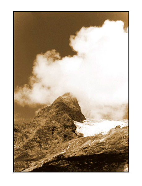 "фото ""Домбай 2"" метки: пейзаж, горы"
