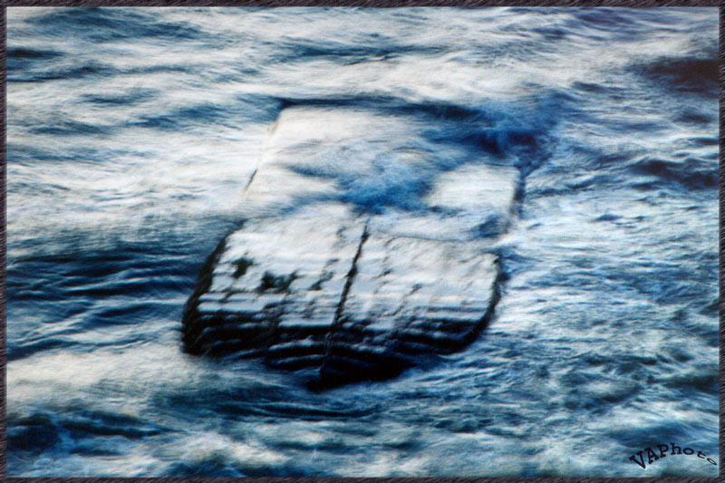"""фото """"Под седой равниной моря..."""" метки: абстракция, пейзаж, вода"""
