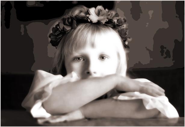 """фото """"Вика"""" метки: портрет, фотомонтаж, дети"""